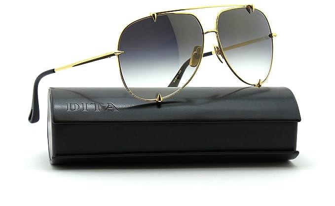 88b3eaced36f Dita TALON Unisex Aviator - 18K Gold Sunglasses 23007-D  Amazon.ca ...