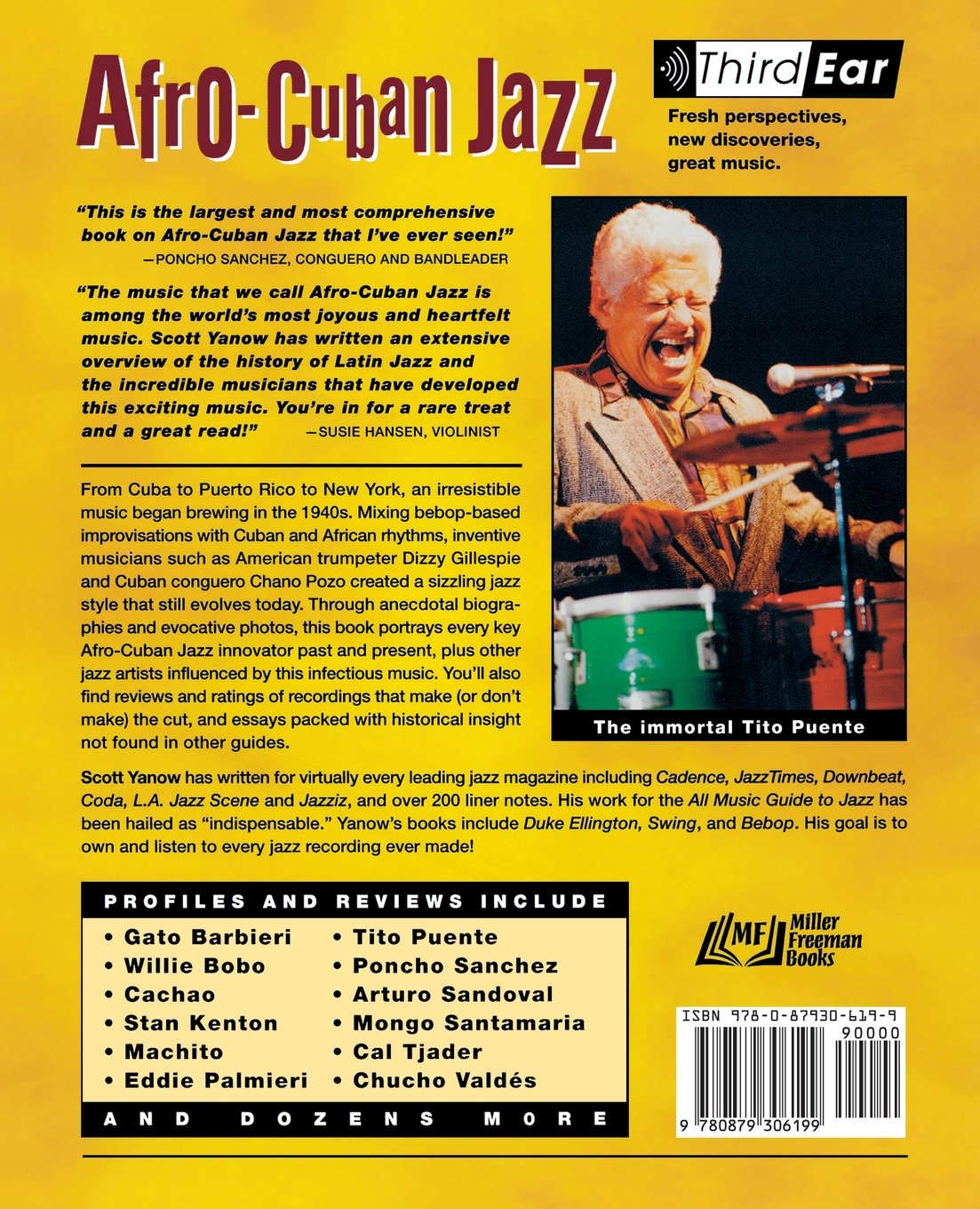 Amazon.com: Afro-Cuban Jazz : Third Ear - The Essential Listening Companion  (9780879306199): Scott Yanow: Books