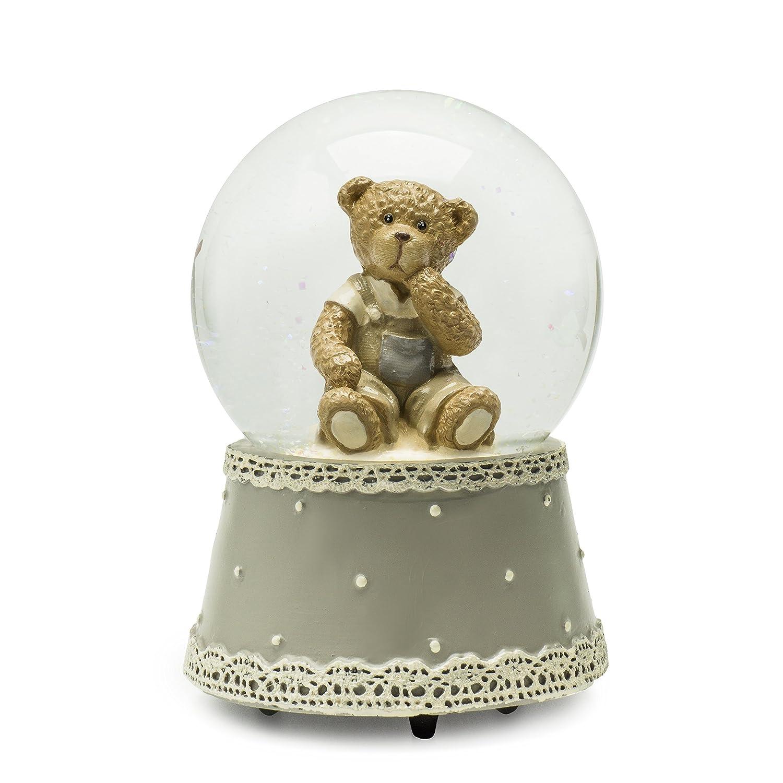 トップ Modali赤ちゃんMusical Bear B07568XRRL Waterball with Porcelan with Bear Boy B07568XRRL, ハンノウシ:4a67c972 --- arcego.dominiotemporario.com