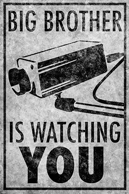 Image result for Big Brother is watching...and Americans are fine with it
