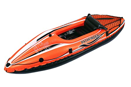 JILONG JL007202N 1personas(s) Negro, Naranja PVC Kayak Inflable Kayak Deportivo - Kayaks Deportivos (Kayak Inflable, 1 Personas(s), 80 kg, Negro, ...