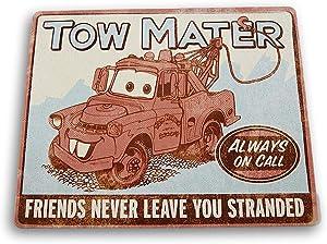 Hallmark Disney Pixar Cars Tow Mater Tin Sign