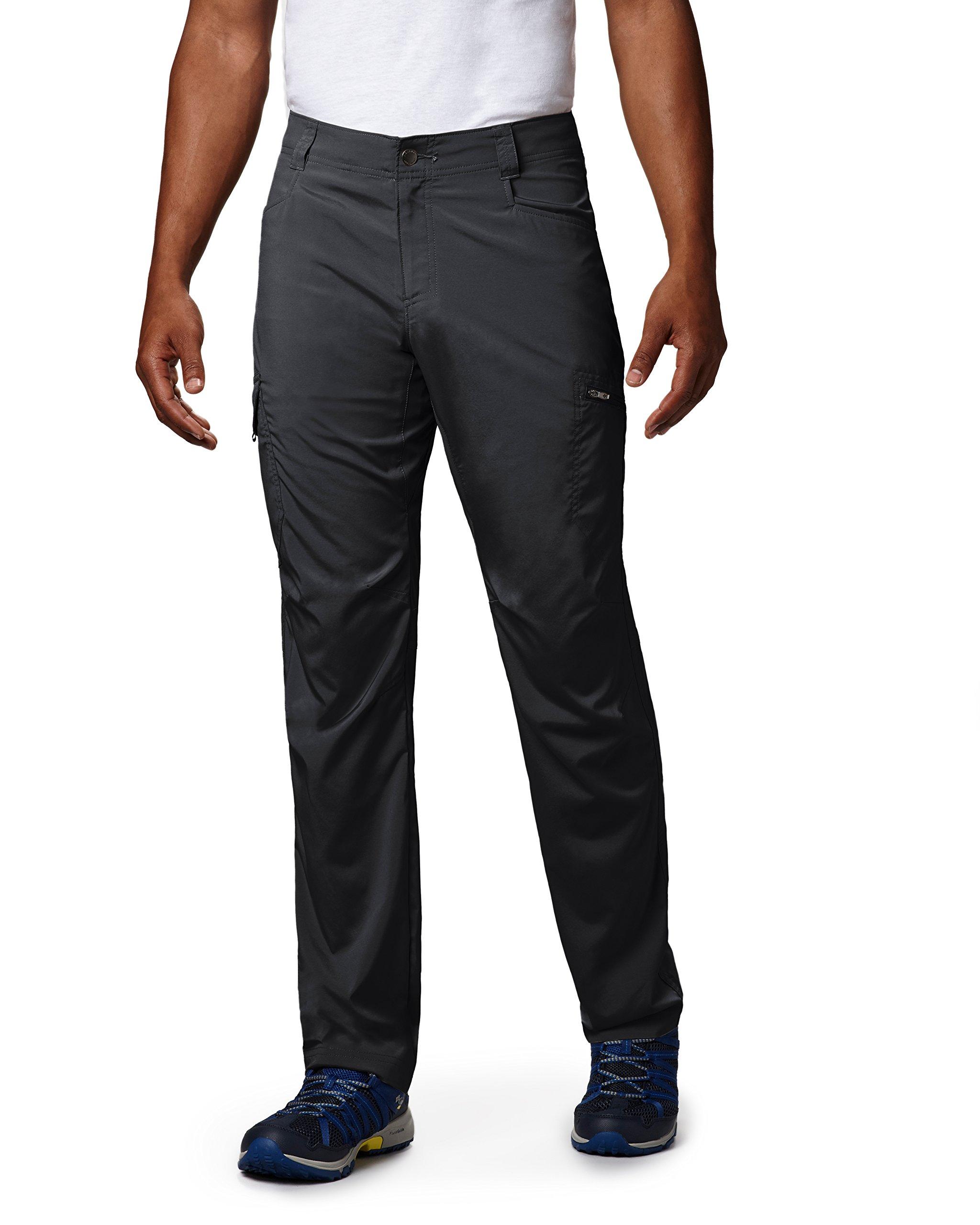 Columbia Men's Silver Ridge Stretch Pants, 34'' x 30'', Black by Columbia