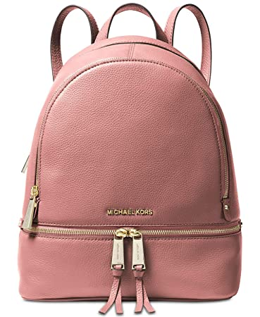 0dc4b7cba86a Amazon.com | MICHAEL Michael Kors Rhea Zip Medium Backpack (Rose) | Casual  Daypacks