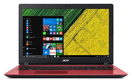 Acer Aspire 3 A315-51 15.6-inch Laptop (7th Gen Intel Core i3-7130U/4GB/1TB/Windows 10 Home 64 bit/Integrated Graphics), Red Laptops at amazon
