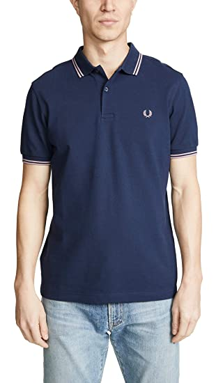57f3c7532 Fred Perry Men's Twin Tipped Polo Shirt: Fred Perry: Amazon.co.uk ...