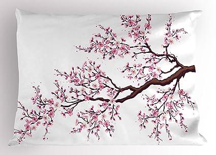 Fabulous Amazon.com: Ambesonne Japanese Pillow Sham, Branch of a  RQ07