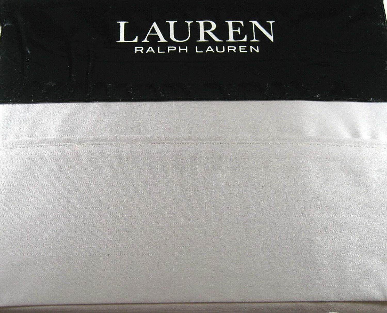 Ralph Lauren Dunham Sateen Queen Size Sheet Set Cotton Sateen Opal Grey