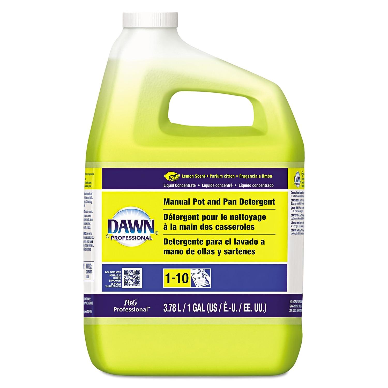 Dawn Professional Pot and Pan Detergent, Lemon Scent, 1 Gallon (Case of 4)