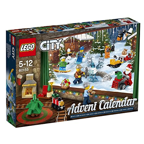 Amazoncom Lego City Advent Calendar 2017 Toys Games