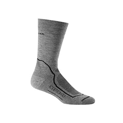 Icebreaker Merino Hike+ Medium Cushion Merino Wool Crew Socks: Clothing