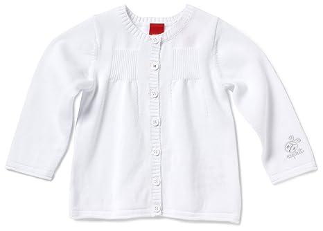 ESPRIT - Abrigo para niña blanco, talla: 50cm (recién nacido)