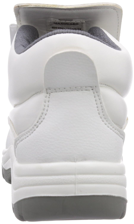 Maxguard W320 - Zapatos de Seguridad Unisex, Color Weiß, Talla 41