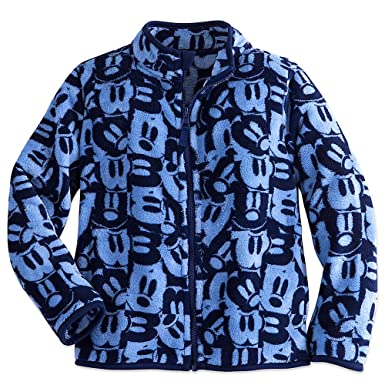 25db3c892 Amazon.com  Disney Kids Mickey Mouse Fleece Jacket Blue  Clothing