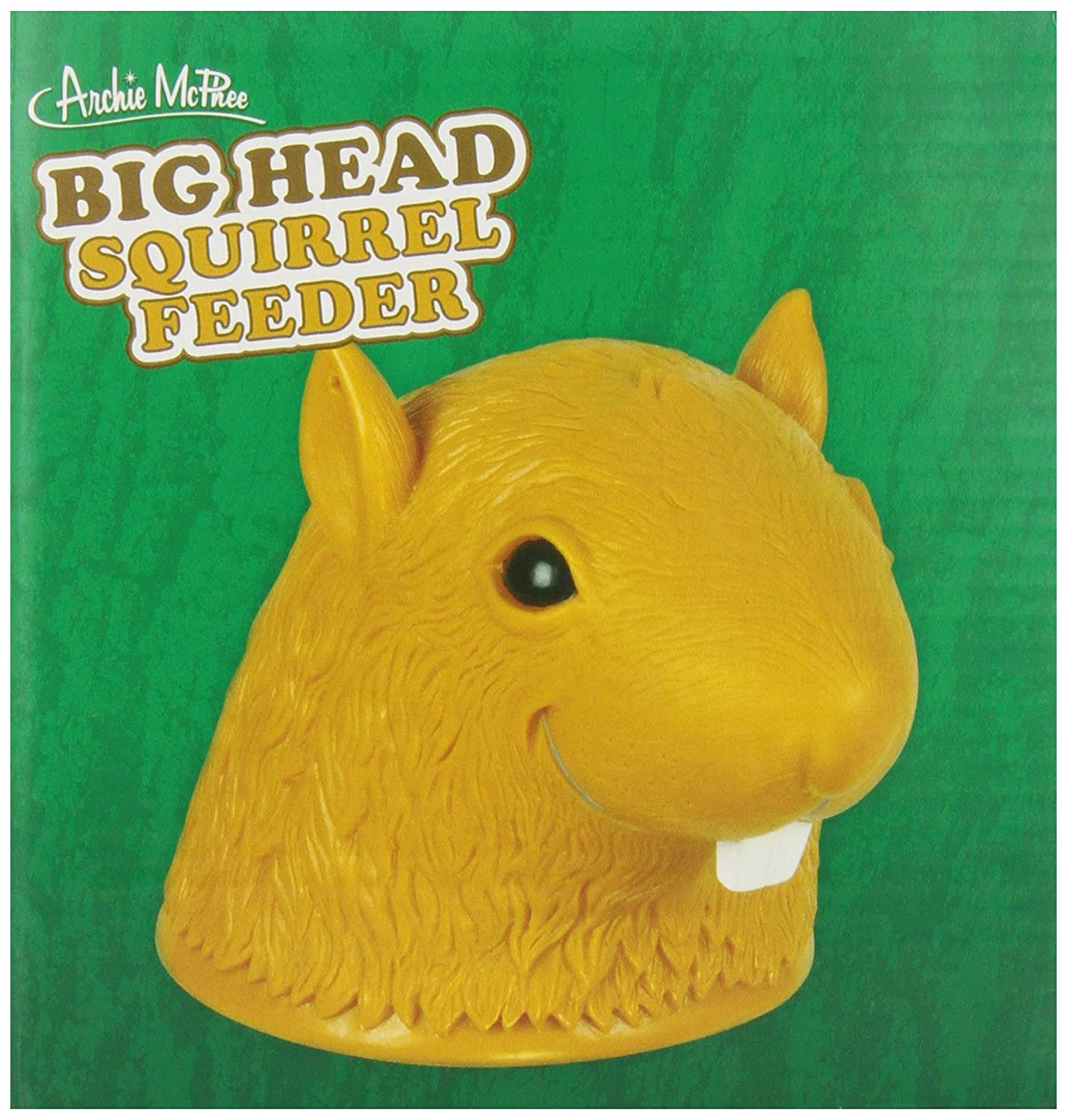 Accoutrements Big Head Squirrel Feeder Flat River Group 12325