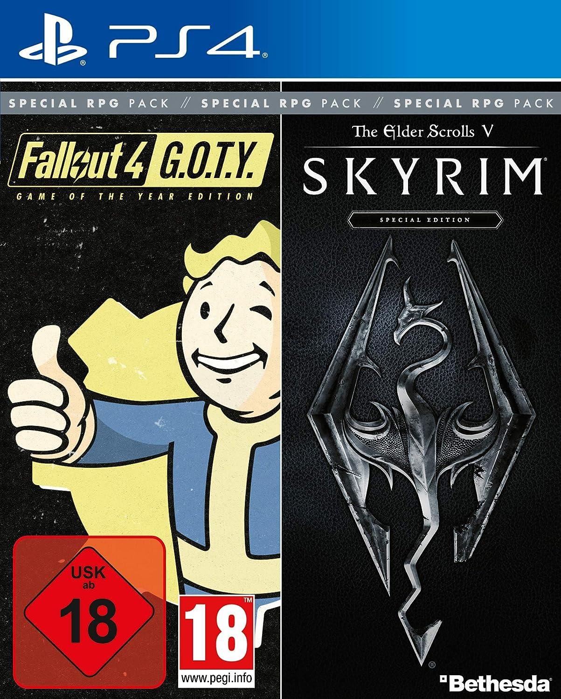 Bethesda RPG Pack (Fallout G.O.T.Y. / SKYRIM Special Edition) - PlayStation 4 [Importación alemana]