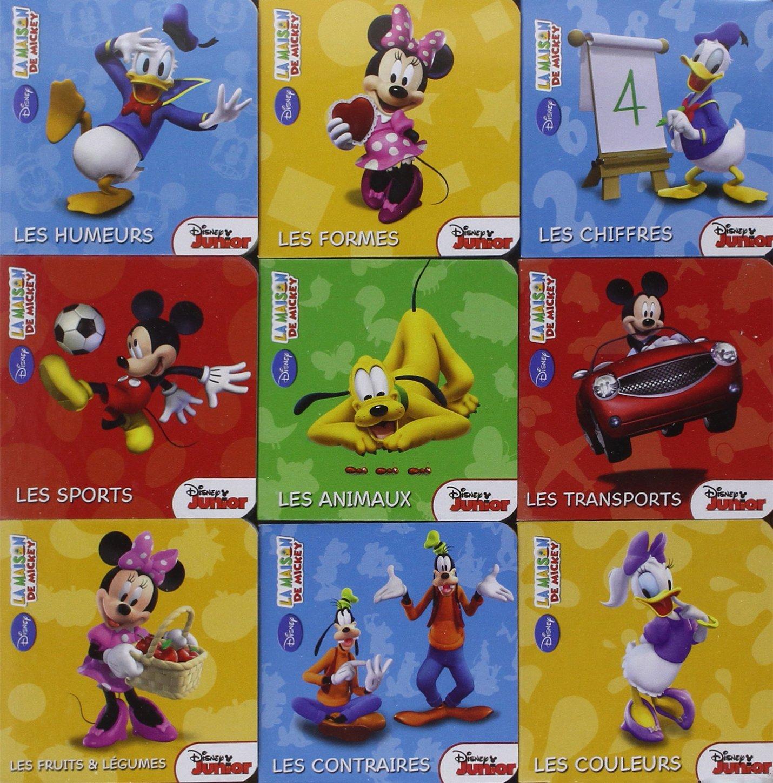 La Maison De Mickey Coffret Livres Tout Carton Walt Disney