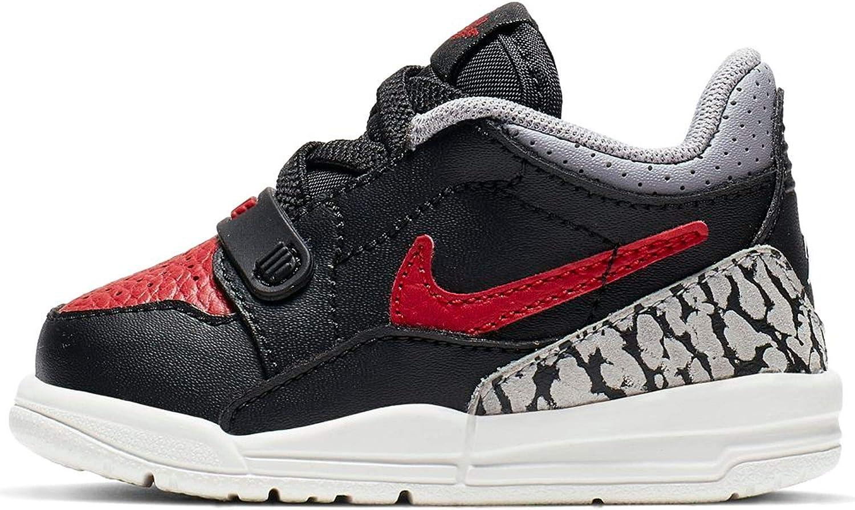 Nike Air Huarache Low All Red Boys Kids 4-7 White Black Foamposite Roshe Run