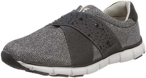Bruetting Elite Comfort, Zapatillas Unisex Adulto, Negro (Schwarz/Silber Schwarz/Silber), 42 EU amazon-shoes el-negro