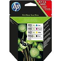 HP C2P43AE 950XL/951XL Original Ink Cartridges, Black/Cyan/Magenta/Yellow, Multipack