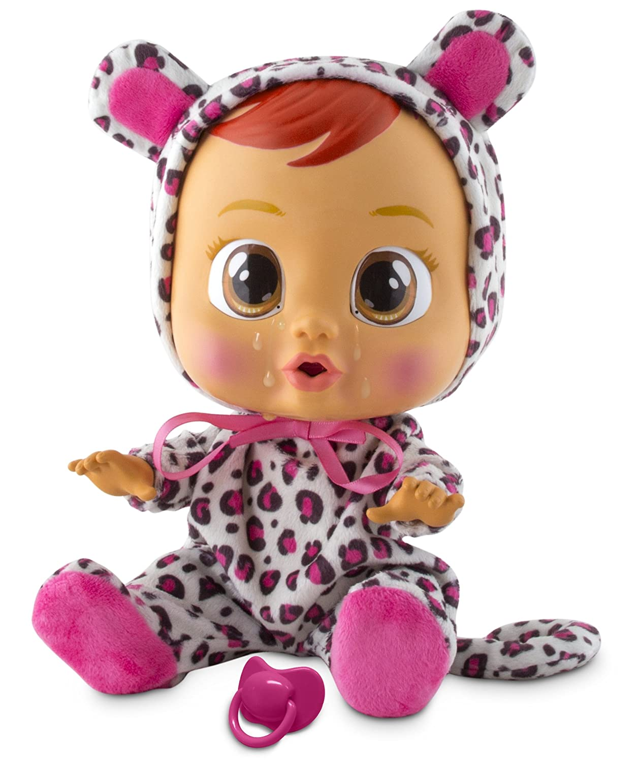 Cry Babies Girls Lea Baby Doll IMC Toys (Import) 10574