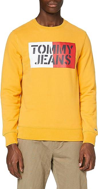 Tommy Hilfiger Essential Swt Sudadera con Cuello Redondo para Hombre