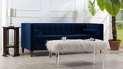 Amazon.com: Jennifer Taylor Home Jack Collection Modern Velvet ...