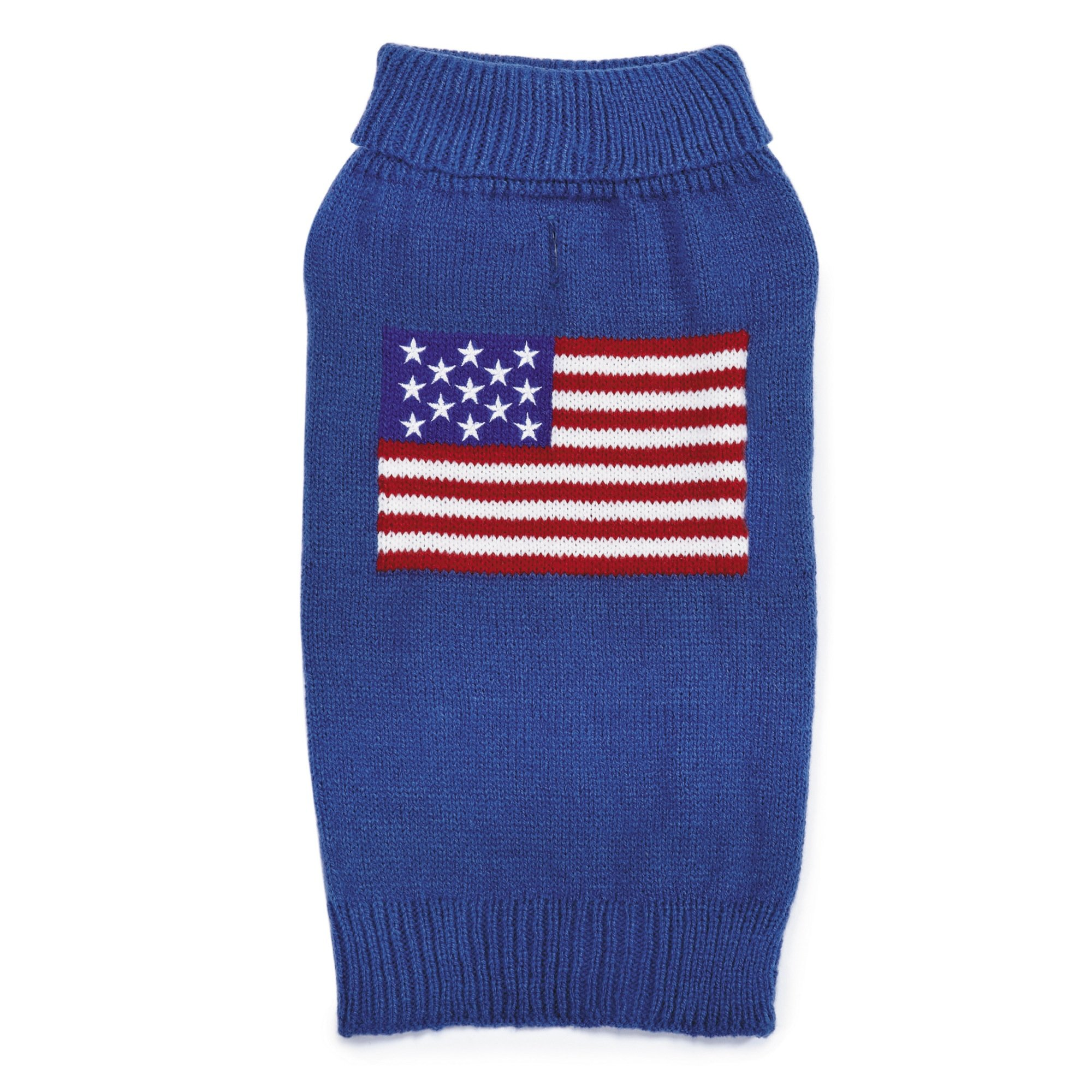 Zack & Zoey Elements American Flag Sweater for Dogs, Small