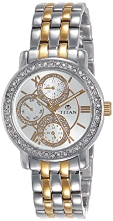 be2d852a7aa Buy Titan Purple Analog Silver Dial Women s Watch -NK9743BM01 Online ...