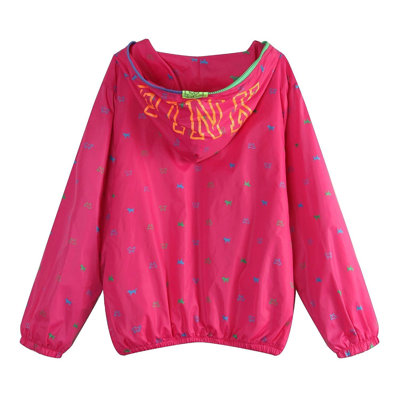 Richie House Little Girls Zip Jacket Animal Print RH1044