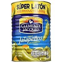 CLEMENTE JACQUES, Clemente Jacques Chile Jalapeño Entero Super Laton 3.65 Kg, 3.65 kilogramos