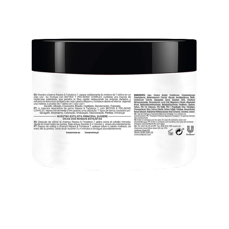 TRESemmé Mascarilla Repara y Fortalece - Paquete de 3 x 300 ml - Total: 900 ml