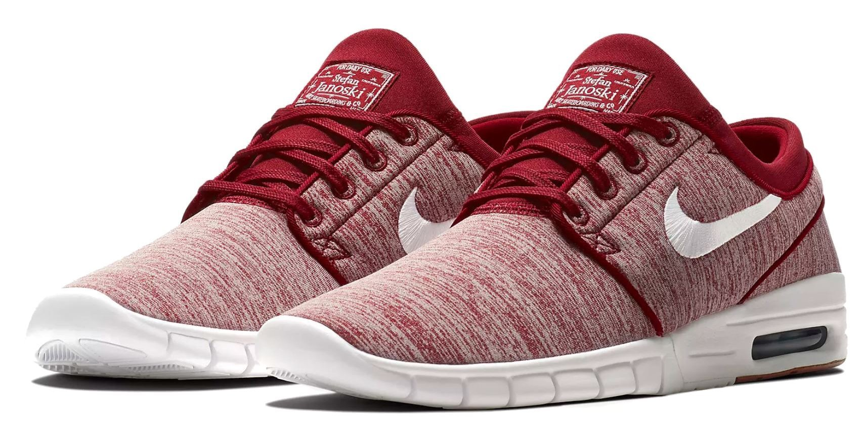 the best attitude 91a09 4995d Galleon - Nike Stefan Janoski Max (Red Crush White, 10.5 D(M) US)