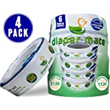 Amazon Price History for:Diaper Mate Refill for Diaper Genie Diaper Pails 4 Pack – 1,120 Count – 6 Month Supply