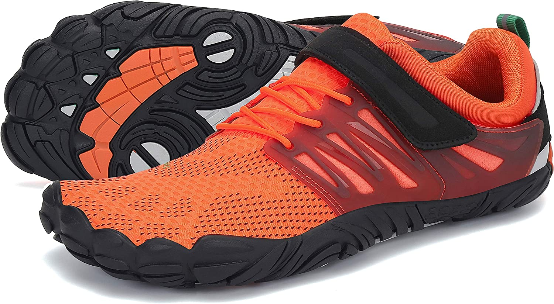 SAGUARO Hombre Mujer Antideslizante Five Fingers Zapatillas Minimalistas de Barefoot Trail Running,Gr 36-46 EU: Amazon.es: Zapatos y complementos