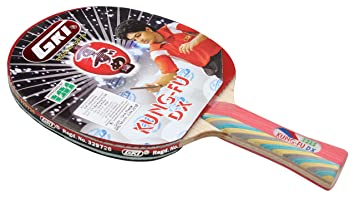 3e881376125 Buy GKI Kung Fu DX Table Tennis Racquet Online at Low Prices in ...