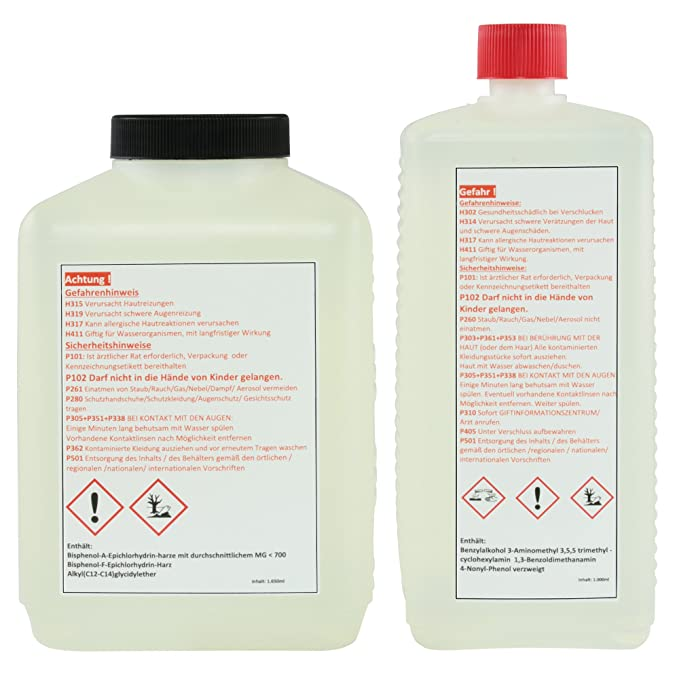 Epoxy Laminating Resin 3 25 Kg Fibreglass Epoxy Resin Amazon Co