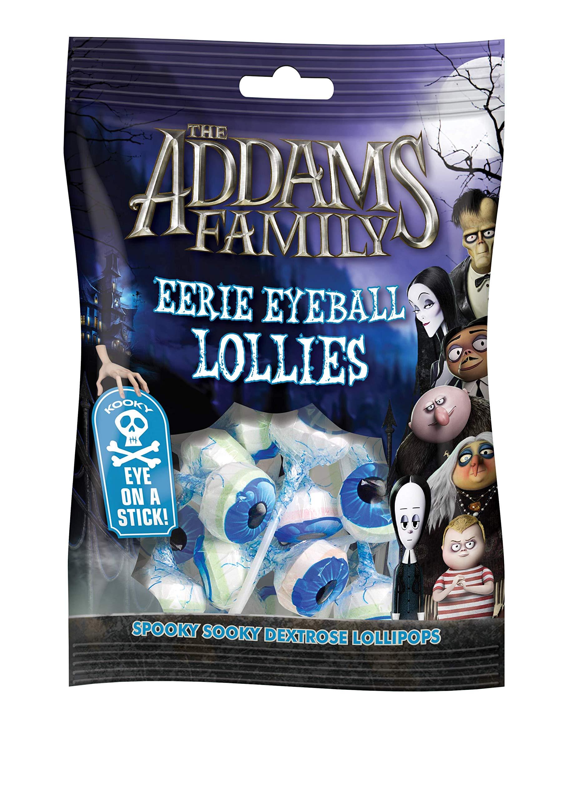 Addams Family Eyeball Pops, 120 g