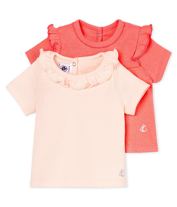 Petit Bateau Baby Girls Lot Ts Ais T-Shirt