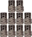 (10) Moultrie No Glow Invisible 12 MP Mini A20i Infrared Game Cameras | A-20i