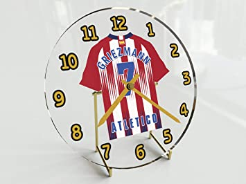 FanPlastic Antoine Griezmann 7 - Club ATLÉTICO DE Madrid FÚTBOL Reloj DE Mesa - EDICION Limitada Las Leyendas del Futbol: Amazon.es: Deportes y aire libre