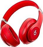 Beats by Dr.Dre ワイヤレスノイズキャンセリングオーバーイヤーヘッドホン Studio3 Wireless 連続再生最大約40時間 Bluetooth対応 W1チップ搭載 密閉型 通話可能 リモコン有り レッド MQD02PA/A 【国内正規品】