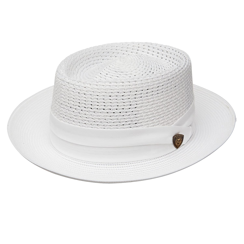 762cfcd60c5e7 Dobbs Bishop Milan Straw Hat at Amazon Men s Clothing store