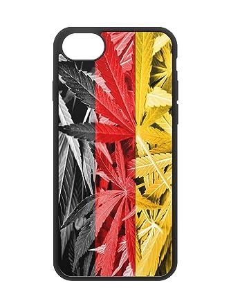 Amazon.com: alemán bandera de malas hierbas goma protectora ...