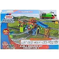 Thomas ve Arkadaşları TrackMaster Percy Büyük Macera Oyun Seti, Motorlu Trenli, 6 Farklı Kurulum, Percy Oyuncak Tren…