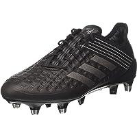 adidas Performance Mens Predator Malice Soft Ground Sports Rugby Boots - Black