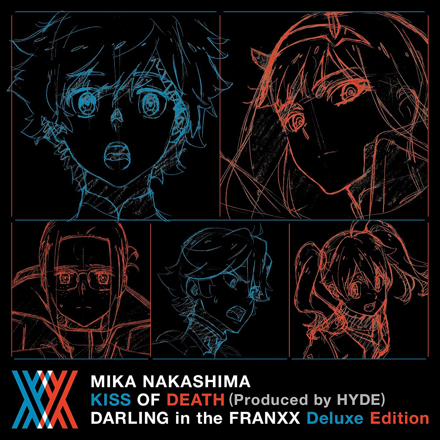 KISS OF DEATH(Produced by HYDE) ダーリン・イン・ザ・フランキス Deluxe Edition(完全生産限定アニメ盤)(Blu-ray Disc付) Single, CD+Blu-ray, Limited Edition, Maxi