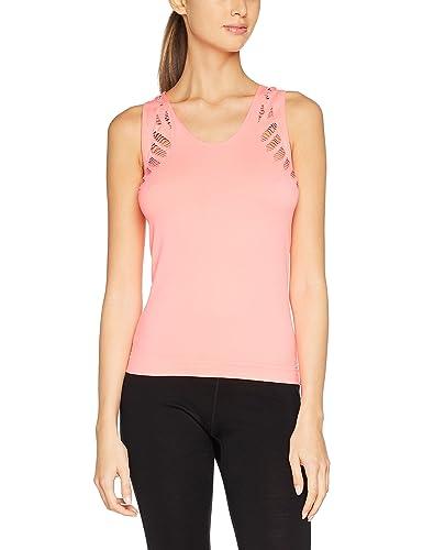 New Look Ac Ladder Sf Vest, Camiseta Deportiva de Tirantes para Mujer