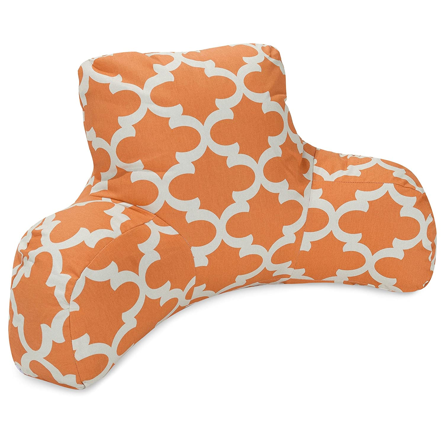 Majestic Home Goods Trellis Reading Pillow, Peach