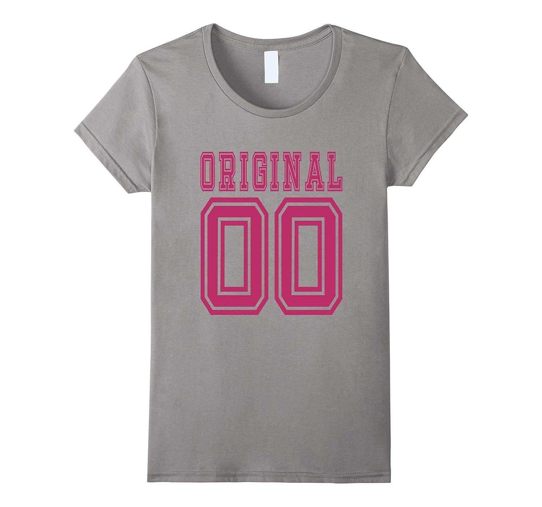 2000 T-shirt 17th Birthday Gift 17 Year Old Girl B-day Cute